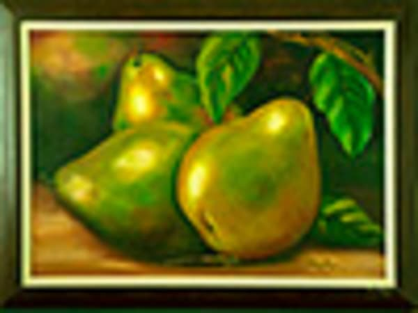 Pears 1997,Oli On Canvas,39x45in   artecolombianobyberenice