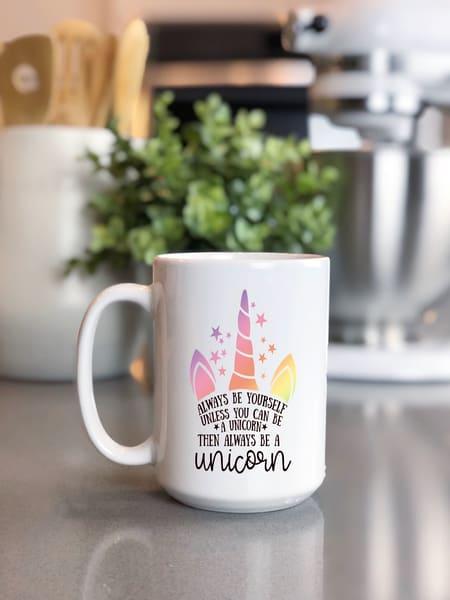 Always Be Yourself/Unicorn Mug