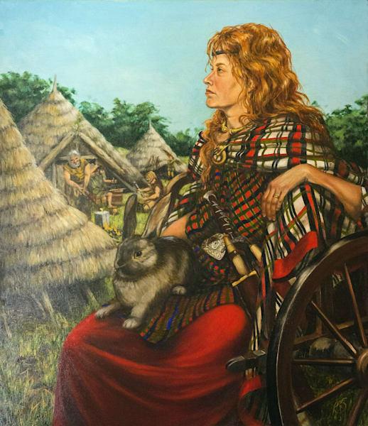 Boudica Of The Iceni Art | Roxana Sinex Art