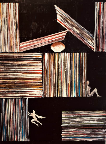213 Record Albums Art | Martsolf Lively Contemporary