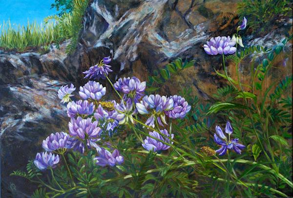 Clover Flowers Art | Roxana Sinex Art