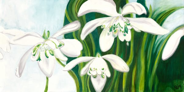 Let Snow Drop Art | Digital Arts Studio / Fine Art Marketplace
