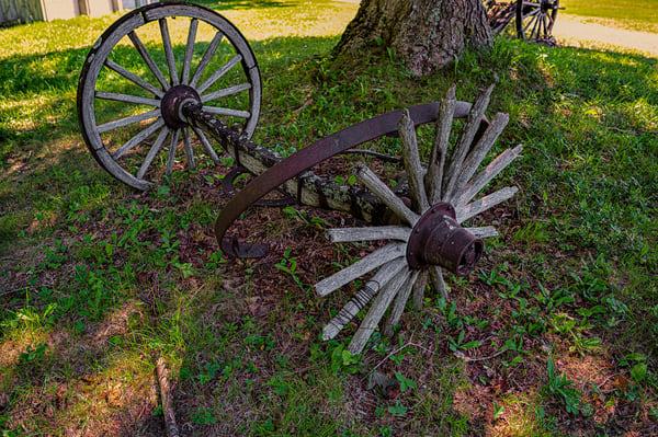 Wagon Wheels Photography Art   Richard J Snow Photography