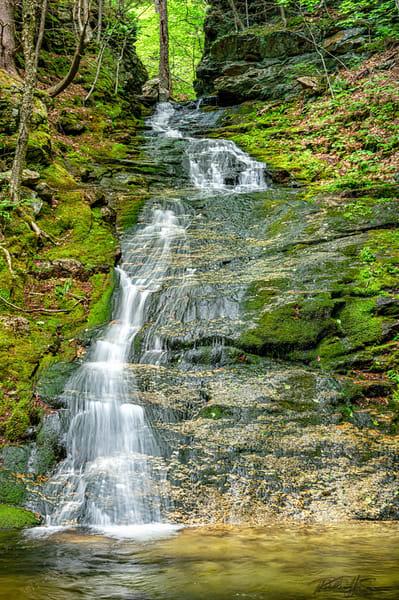 Bickford Slides   Middle Falls V Photography Art | Richard J Snow Photography