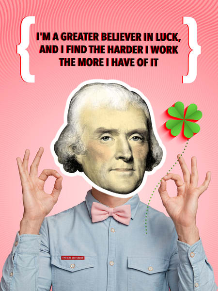 Hard Work = More Luck Art | Awake Graphics, LLC
