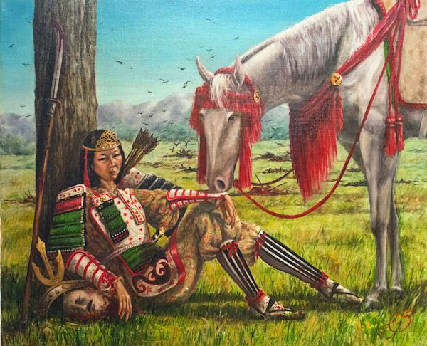 Tomoe Gozen, Samurai Art | Roxana Sinex Art