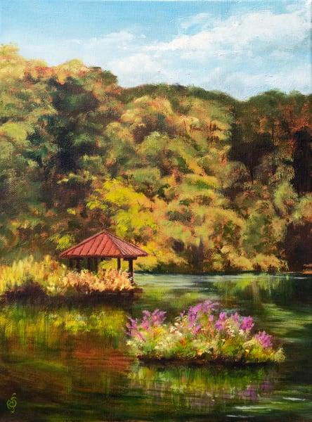 Wildflower Island Art   Roxana Sinex Art