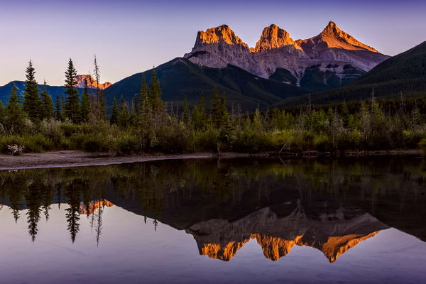 Three Sisters   Canmore, Alberta Photography Art | Byron Fichter Fotography