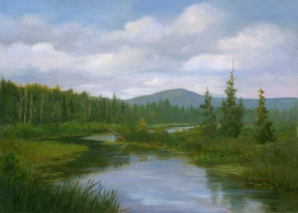*South Creek, Adirondacks* Art | Tarryl Fine Art