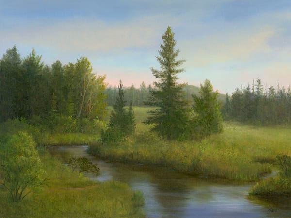 *Spring Along The Bloomingdale Bog, Adirondacks* Art | Tarryl Fine Art