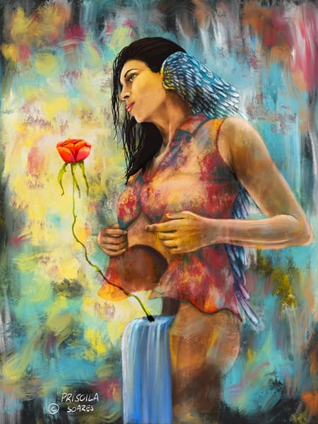 The Rose Within Art | Priscila Soares - MyLuckyEars