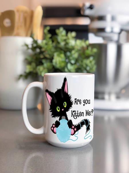 Are You Kitten Me? Mug