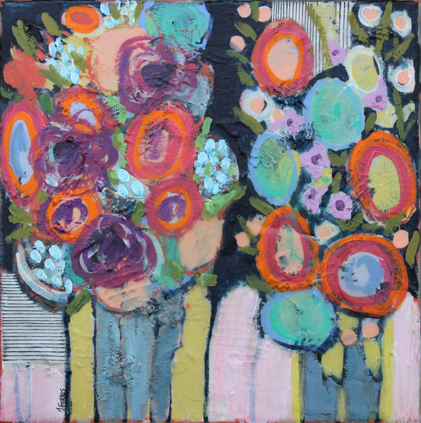 "Print Of ""Tablescapes I"" Art | Jennifer Ferris"