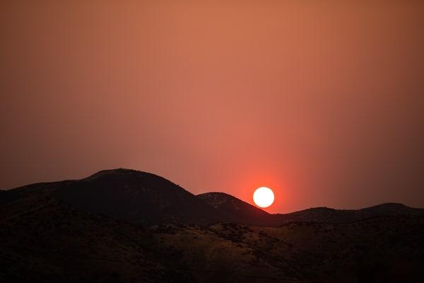 Smokey Sunset Photography Art | Sydney Croasmun Photography
