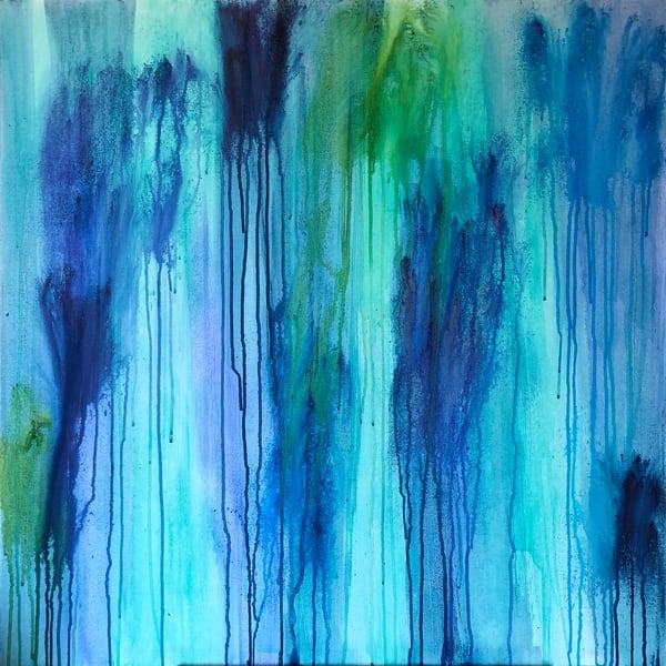 Ocean Rain (Original) Art | Jen Sterling LLC