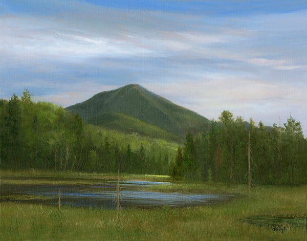 *Cherrypatch Pond, With A View Of White Face Mnt.* Art | Tarryl Fine Art