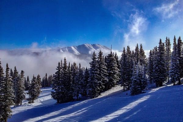 Mt. Baldy From Breckenridge Resort  Photography Art | Alex Nueschaefer Photography