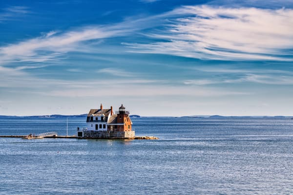 Rockland Breakwater Light | Shop Photography by Rick Berk