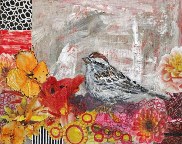 """Print Of """"Pretty In Pink"""" Art   Jennifer Ferris"""