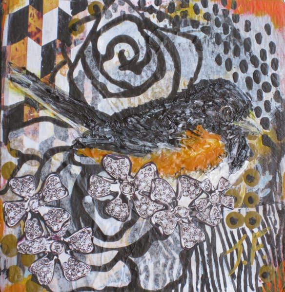 "Print Of ""Eastern Towhee"" Art | Jennifer Ferris"