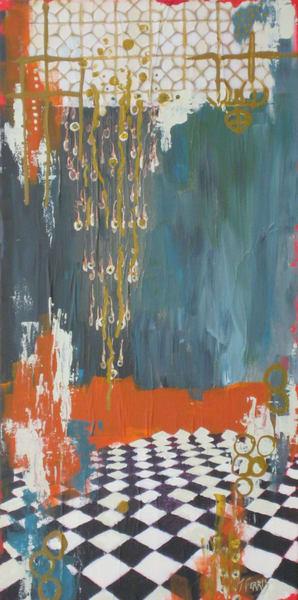 "Print Of ""Cascading"" Art | Jennifer Ferris"