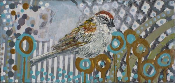 "Print Of ""Chipping Sparrow"" Art   Jennifer Ferris"
