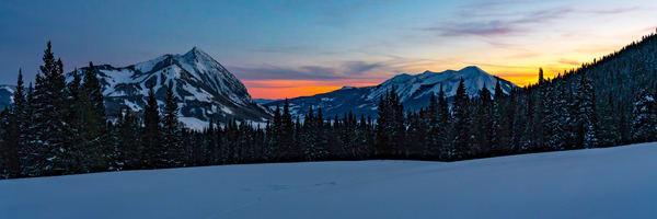 Crested Butte Sunset Photography Art   Alex Nueschaefer Photography