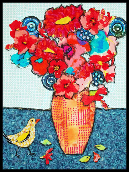 Bird Still Live is a  Sharon Tesser still life.
