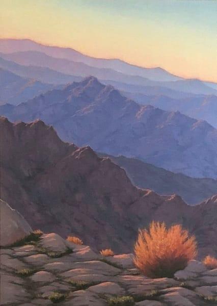 Overlook Sunset Glow  Art | Terry Sauve Fine Art