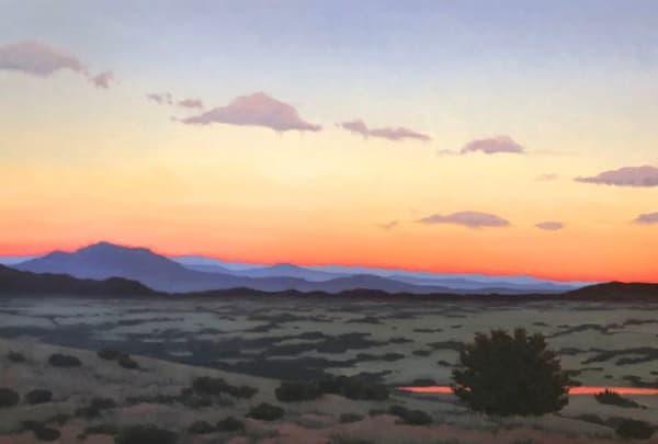 Desert Sky Aglow  Art | Terry Sauve Fine Art