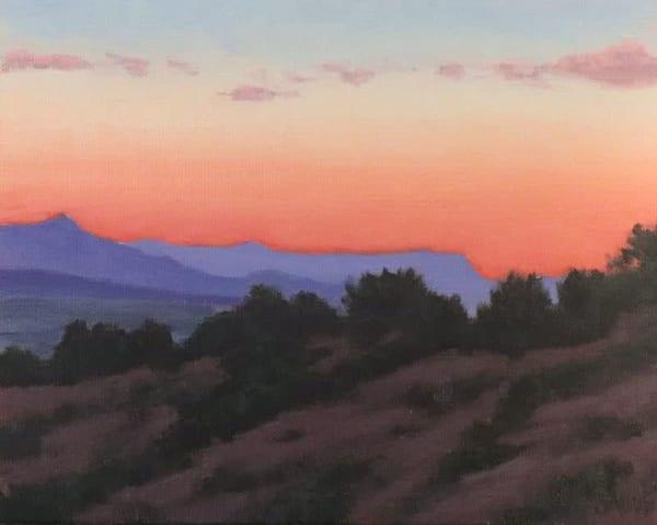 Crimson Sky, Tesuque Art | Terry Sauve Fine Art