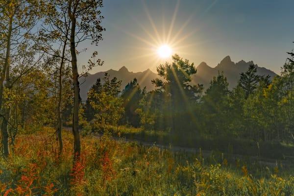 Teton Sunset  Photography Art | Alex Nueschaefer Photography