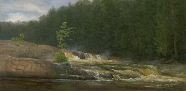 *Lower Falls, St. Regis River* Art | Tarryl Fine Art
