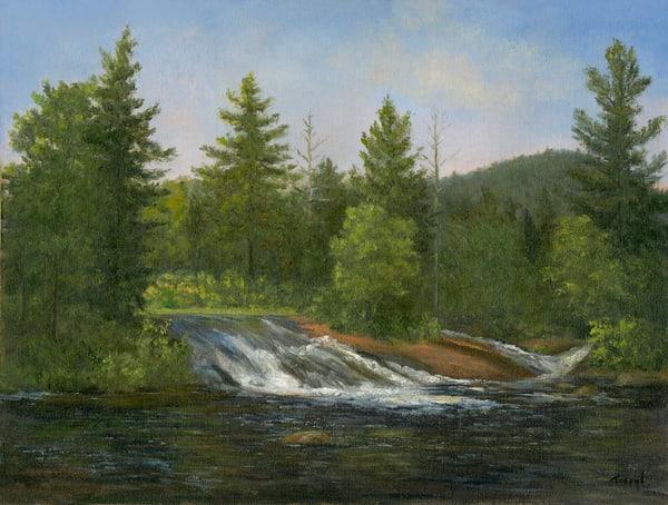 *Bog River Falls* Art | Tarryl Fine Art
