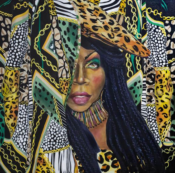 Drag Queen Series of original paintings by New Orleans Based artist Pamela Reed