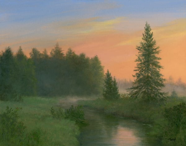 *Sunrise Over Bloomingdale Bog* Art | Tarryl Fine Art