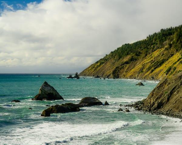 Hardy Rock, Shoreline Highway, California, 2020