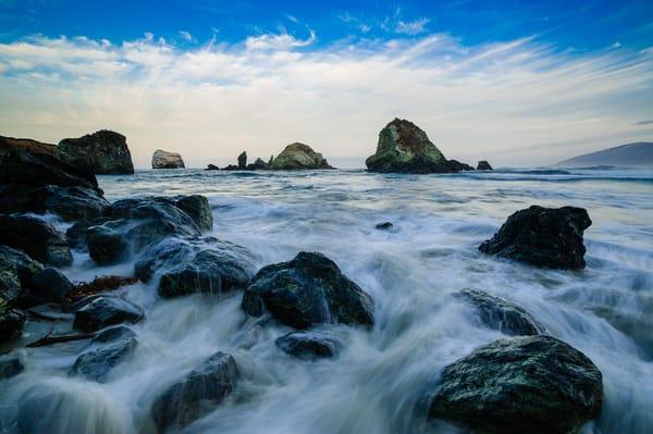 Surf, Sand Dollar Beach, California, 2014
