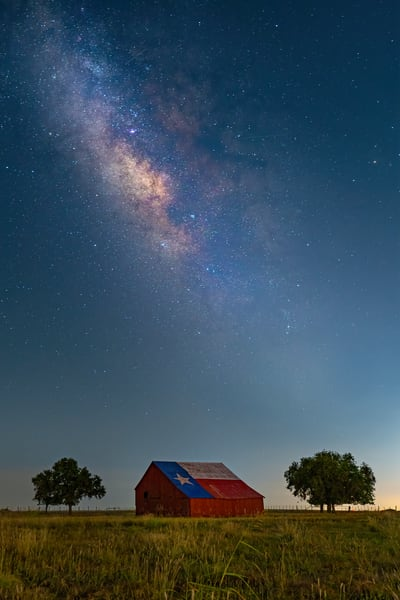 Big Sky Over Texas Photography Art | John Martell Photography