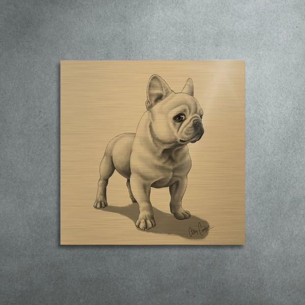 The Aristocrat (Gold Finish) Art | BunnyPigs