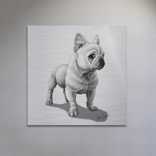 The Aristocrat (Silver Finish) Art | BunnyPigs