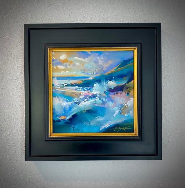 Blue Splash Art | Michael Mckee Gallery Inc.