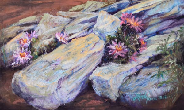 Lindy Cook Severns Art | Cactus Bouquets