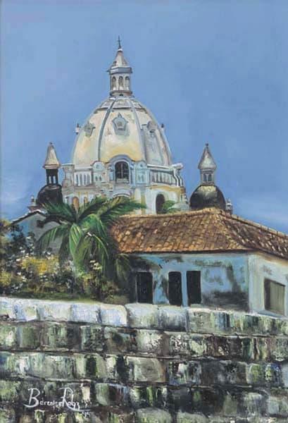 Cartagena De Indias 2003 16in X 22in Art   artecolombianobyberenice