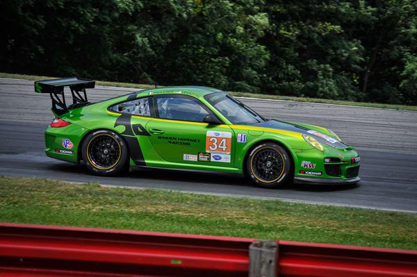 Green Hornet Racing Porsche Car Photography Art | Cardinal ArtWorks LLC