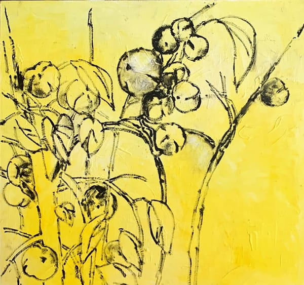 Yellow Peonies Art | Fountainhead Gallery