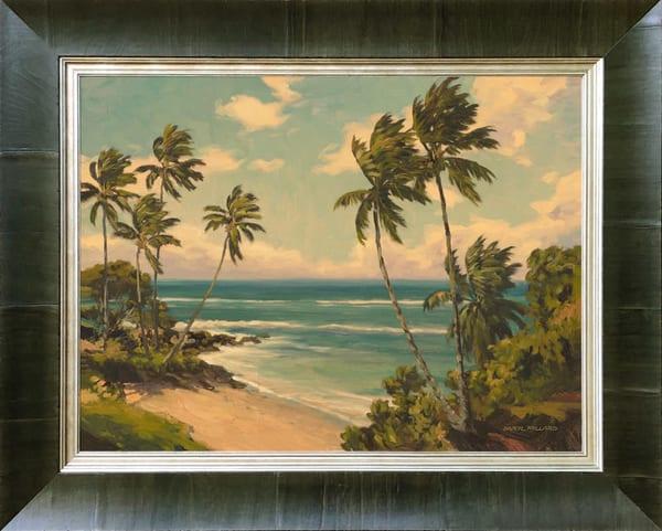 Hidden Beach ~ In Stock Framed Art | Daryl Millard Gallery LLC