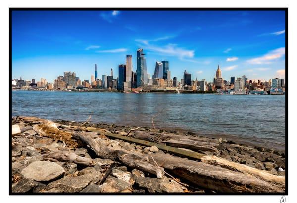 Rocky Shore, Manhattan Island Photography Art   Cid Roberts Photography LLC