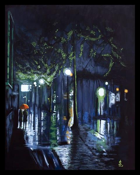 Summer Night Stroll Art   RPAC Gallery
