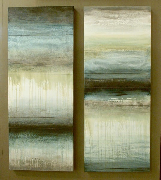 Ocean Memories 2, 3  (Originals) Art | Laurie Fields Studio